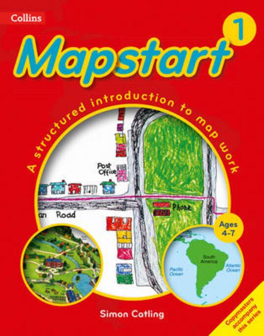 Collins Mapstart 1 - Simon Catling - cover