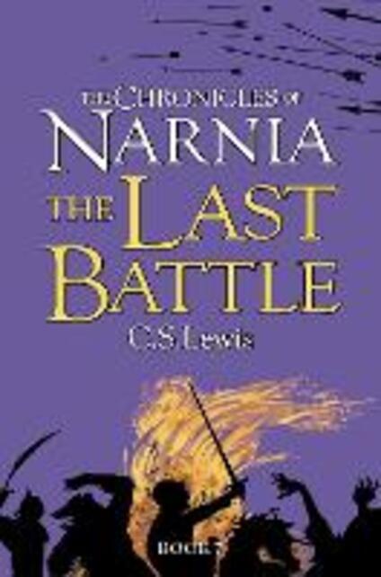 The Last Battle - C. S. Lewis - cover