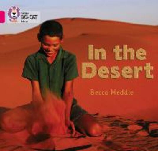 In the Desert: Band 01b/Pink B - Rebecca Heddle - cover
