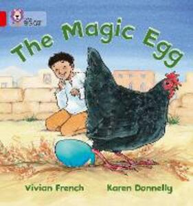 The Magic Egg: Band 02a/Red a - Vivian French,Karen Donnelly - cover