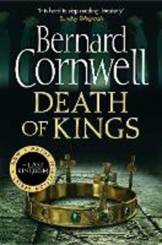 Death of Kings - Bernard Cornwell - cover