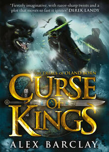 Curse of Kings - Alex Barclay - cover