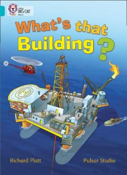 What's that Building?: Band 07/Turquoise - Richard Platt,Pulsar Studio - cover