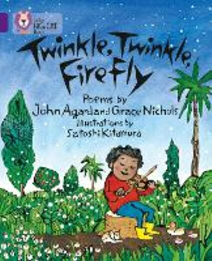 Twinkle, Twinkle, Firefly: Band 08/Purple - John Agard,Grace Nichols,Satoshi Kitamura - cover