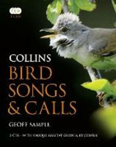 Collins Bird Songs and Calls - Geoff Sample - cover
