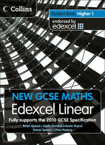 Student Book Higher 1: Edexcel Linear (A) - cover