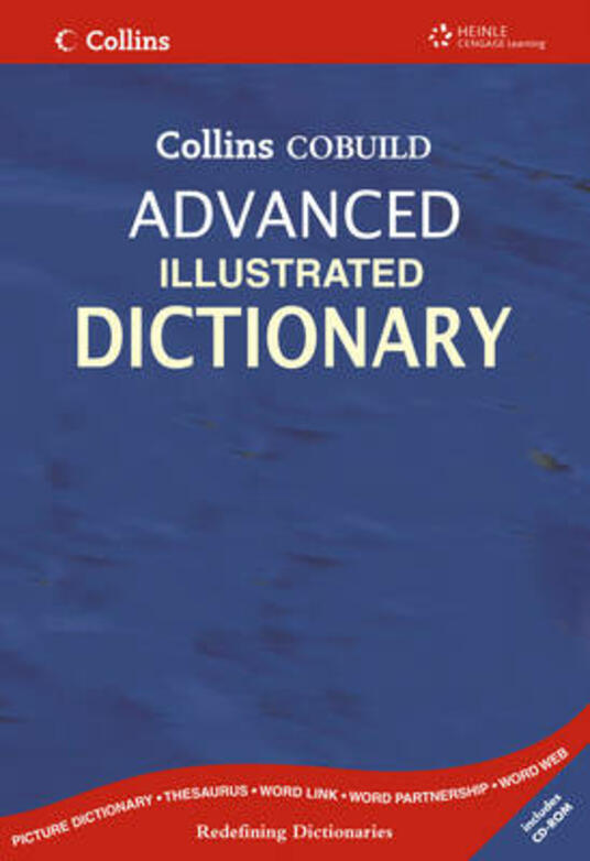 Collins Cobuild Advanced Illustrated Dictionary with CD-Rom - cover