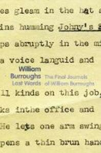 Last Words - William Burroughs - cover