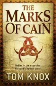 The Marks of Cain - Tom Knox - cover