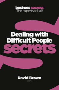 Dealing With Difficult People - cover