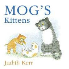 Mog's Kittens board book - Judith Kerr - cover