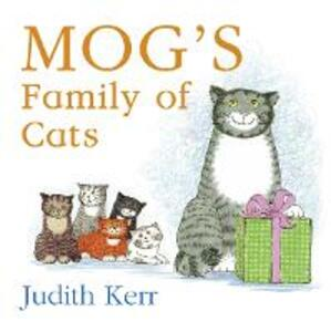 Mog's Family of Cats board book - Judith Kerr - cover