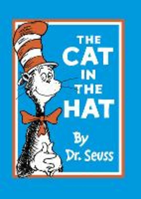 The Cat in the Hat - Dr. Seuss - cover