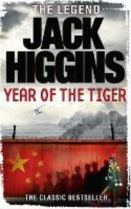 Year of the Tiger - Jack Higgins - cover