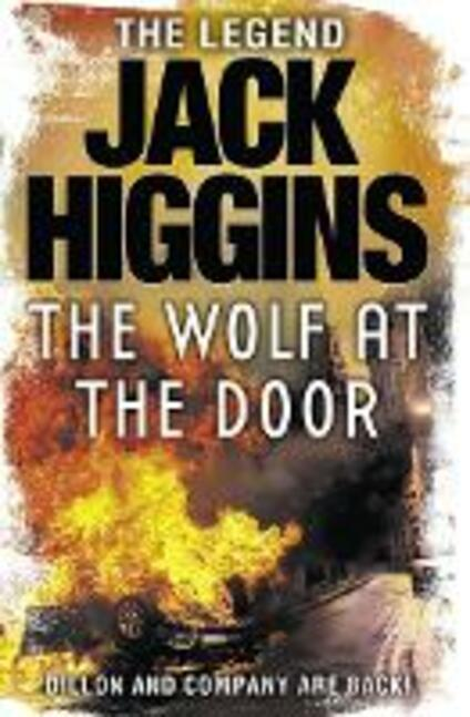 The Wolf at the Door - Jack Higgins - cover