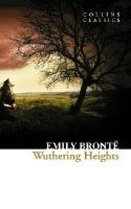Wuthering Heights - Emily Bronte - cover