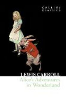 Alice's Adventures in Wonderland - Lewis Carroll - cover