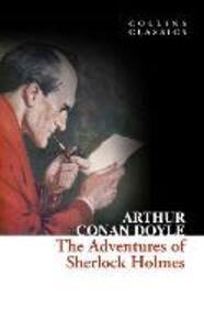 The Adventures of Sherlock Holmes - Arthur Conan Doyle - cover