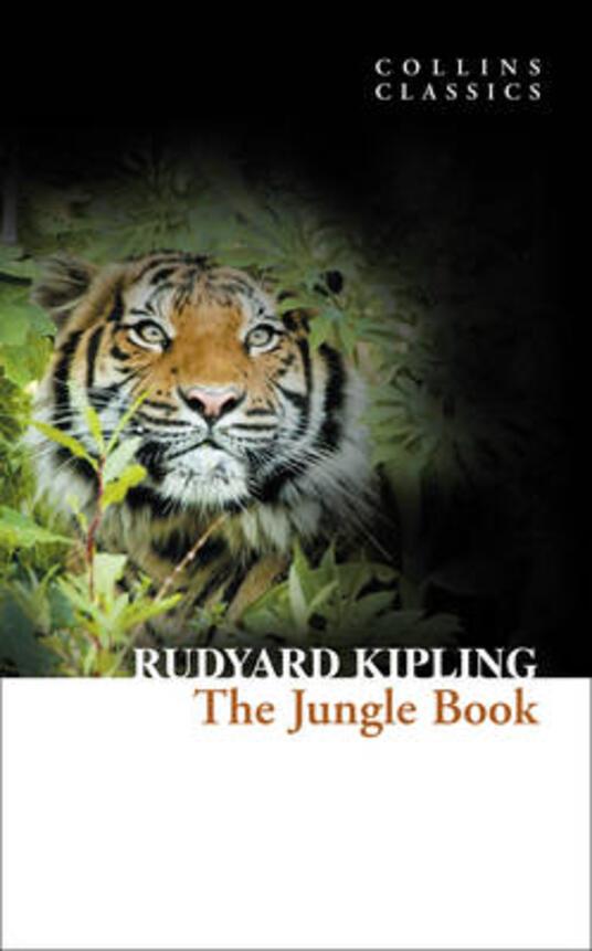 The Jungle Book - Rudyard Kipling - cover