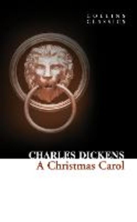 A Christmas Carol - Charles Dickens - cover