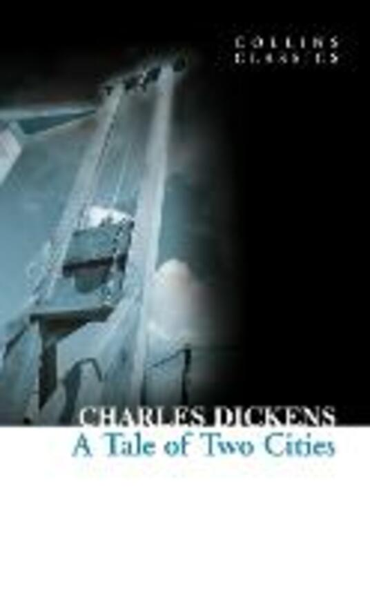A Tale of Two Cities - Charles Dickens - cover