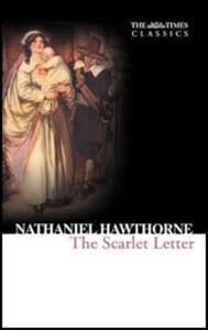 The Scarlet Letter - Nathaniel Hawthorne - cover