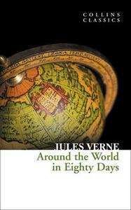 Around the World in Eighty Days - Jules Verne - cover