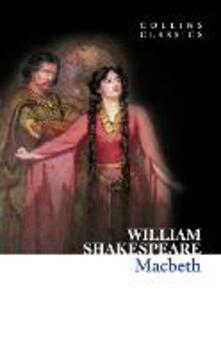 Macbeth - William Shakespeare - cover