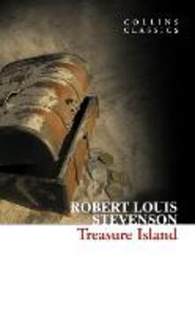 Treasure Island - Robert Louis Stevenson - cover