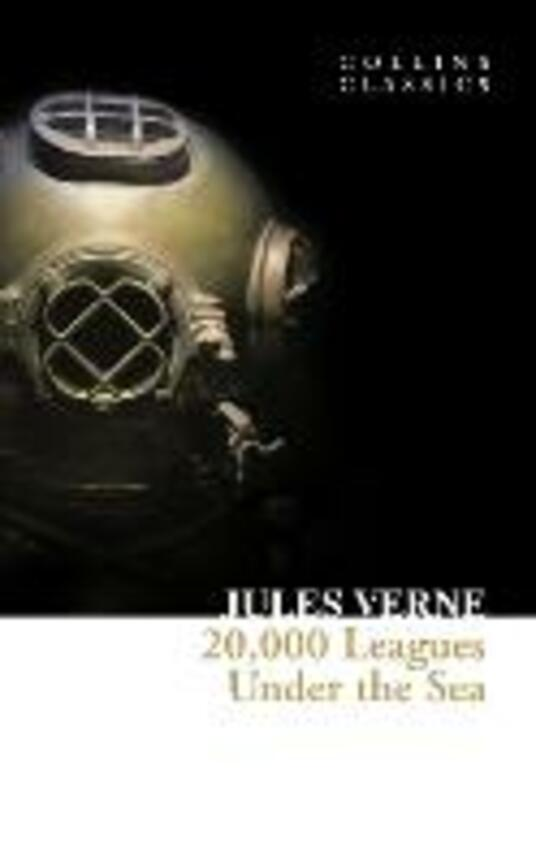 20,000 Leagues Under The Sea - Jules Verne - cover