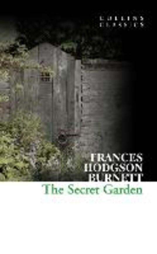 The Secret Garden - Frances Hodgson Burnett - cover