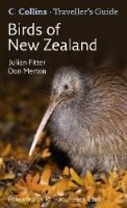Birds of New Zealand - Julian Fitter - cover