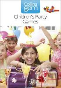 Ebook in inglese Children's Party Games (Collins Gem) -, -