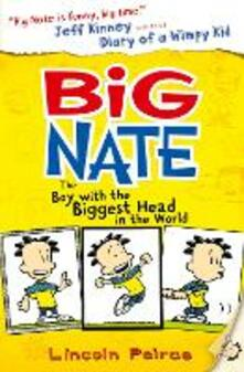 The Boy with the Biggest Head in the World - Lincoln Peirce - cover
