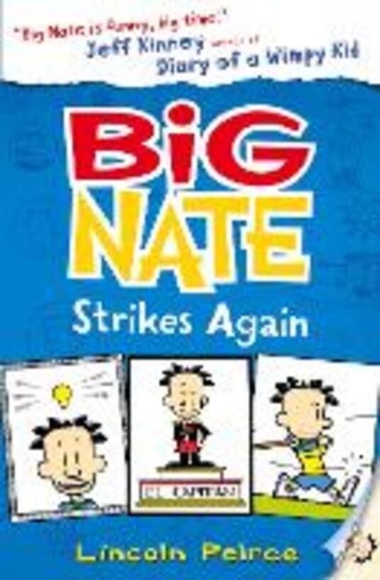 Big Nate Strikes Again - Lincoln Peirce - cover