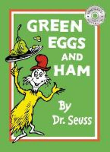 Green Eggs and Ham - Dr. Seuss - cover