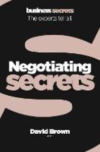 Foto Cover di Negotiating, Ebook inglese di David Brown, edito da HarperCollins Publishers