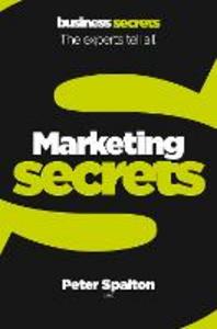 Ebook in inglese Marketing (Collins Business Secrets) Spalton, Peter