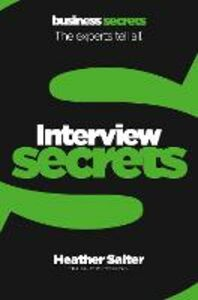 Ebook in inglese Interviews (Collins Business Secrets) Salter, Heather