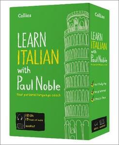 Learn Italian with Paul Noble - Complete Course: Italian Made Easy with Your Personal Language Coach - Paul Noble - cover