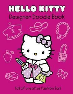 Hello Kitty Designer Doodle Book - cover
