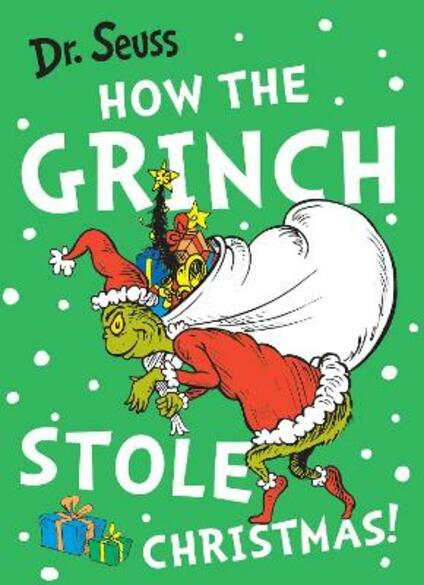 How the Grinch Stole Christmas! - Dr. Seuss - cover