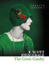 The Great Gatsby - F. Scott Fitzgerald - cover