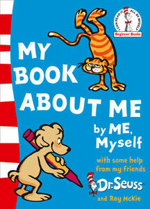 My Book About Me - Dr. Seuss - cover