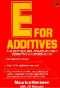 Ebook in inglese E for Additives Hanssen, Maurice