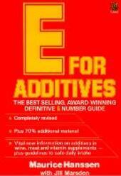 E for Additives