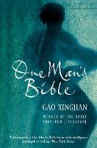 Ebook in inglese One Man's Bible Xingjian, Gao