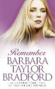 Ebook in inglese Remember Bradford, Barbara Taylor