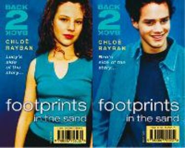 Foto Cover di Footprints in the Sand (Back-2-Back, Book 1), Ebook inglese di Chloe Rayban, edito da HarperCollins Publishers
