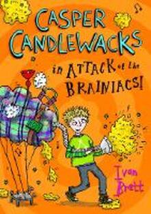 Casper Candlewacks in Attack of the Brainiacs!